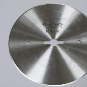 Лезвие дискового ножа R4-1/4 для отрезной линейки (YF02916-T)