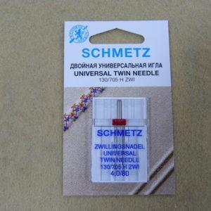 Игла Schmetz 130/705H ZWI NE 4,0 №80 (1шт/уп)