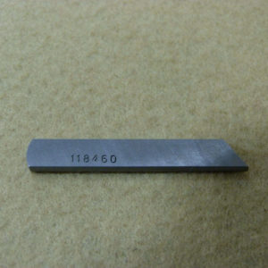 Нож нижний JZ 118-46003