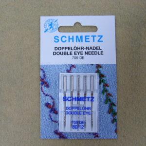 Игла Schmetz 130/705H №80 (5шт/уп) с двумя ушками для дек. работ