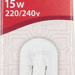 Лампочка для шв.машин Aurora AU-205015  20х50мм 15W 220/240V