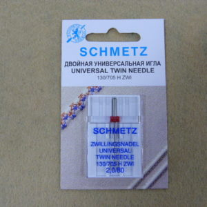 Игла Schmetz 130/705H ZWI NE 2,0 №80 (1шт/уп)