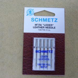 Игла Schmetz 130/705H LL №80 (5шт/уп)