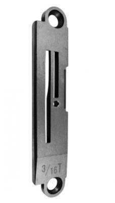 Пластина игольная  Juki 5200 B1190-522-TOO с обрезкой края 3/16″