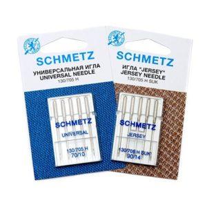 Игла Schmetz 130/705H №70(2), №80(3), №90(3), №100(2) Набор