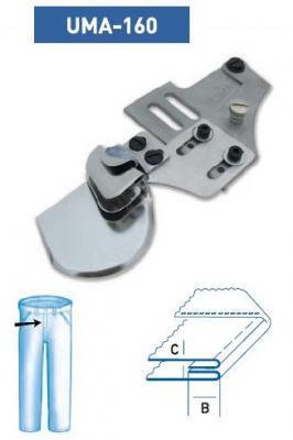 Приспособление UMA — 160 10 мм H