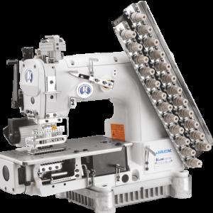 12-игольная швейная машина Jack-8009VCDI-12064P (Голова)