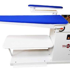 Промышленный гладильный стол, консольного типа, с рукавом, подогр. и вакуумной аспирацией, TRIO Q1