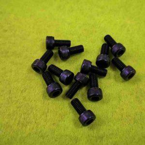 Винт крепления стойки для приспособлений  M5x10 8 8 Jack W4 GB/T70.1 S05003