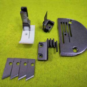 Комплект для прямострочных машин для обрезки края изделия 12535 JZ